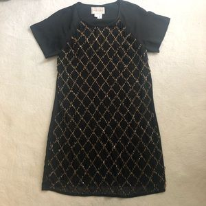 Keepsake black sequin dress